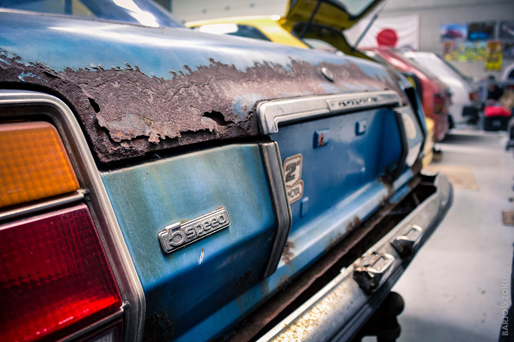 Toyota Cressida coffre