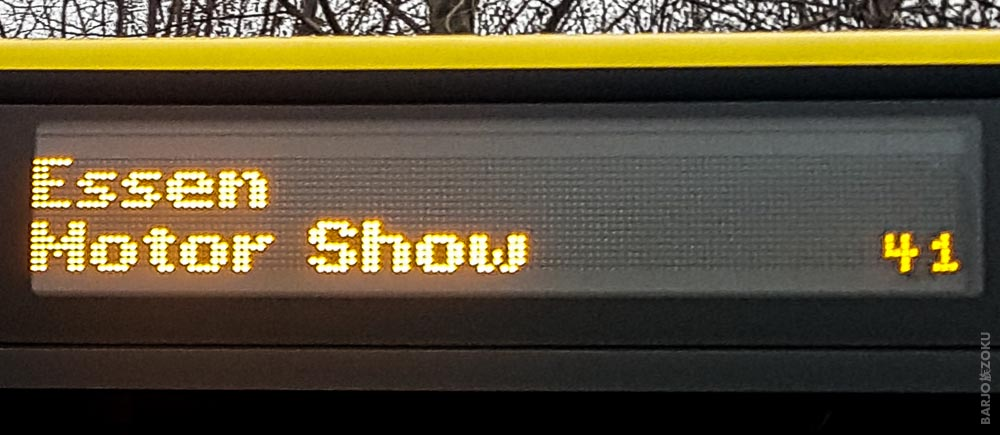 Bus Essen Motor Show