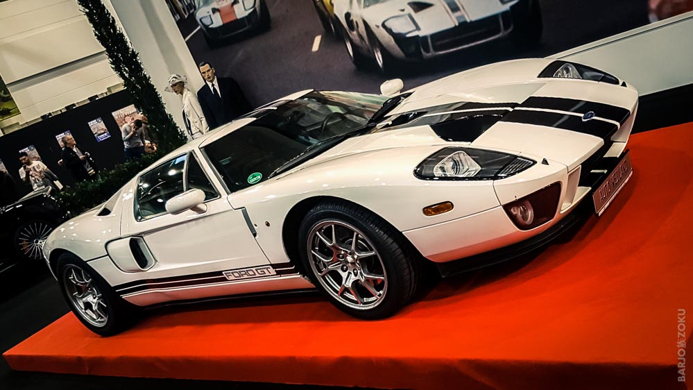 Ford GT40 blanche