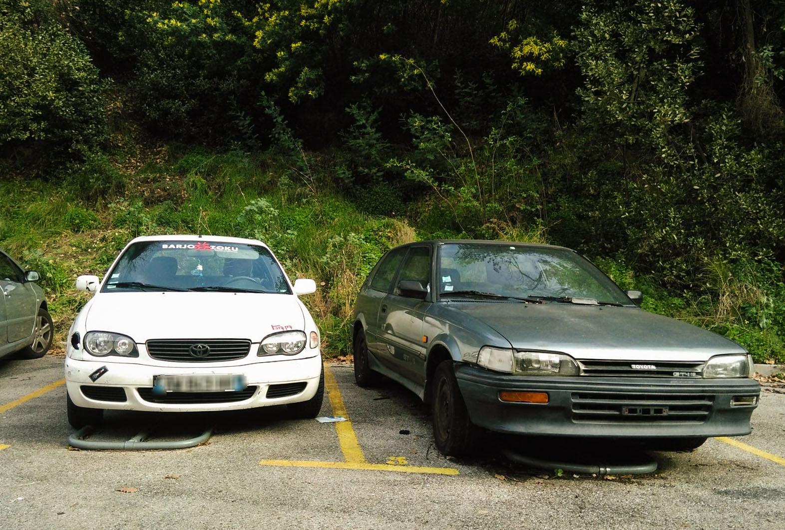 Toyota Corolla E11 et AE92