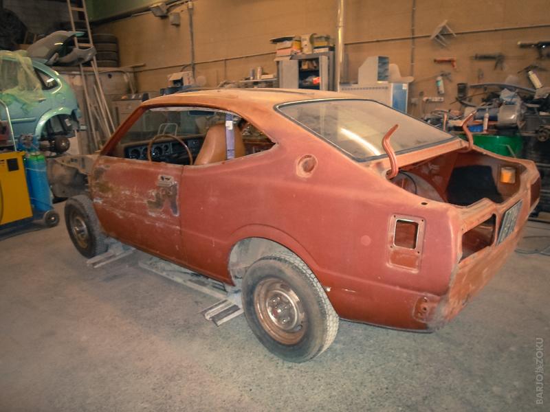Toyota Corolla KE35 restauration
