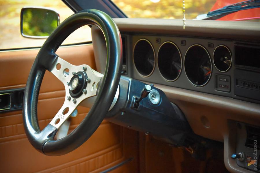 Toyota Corolla KE35 Interior steering wheel