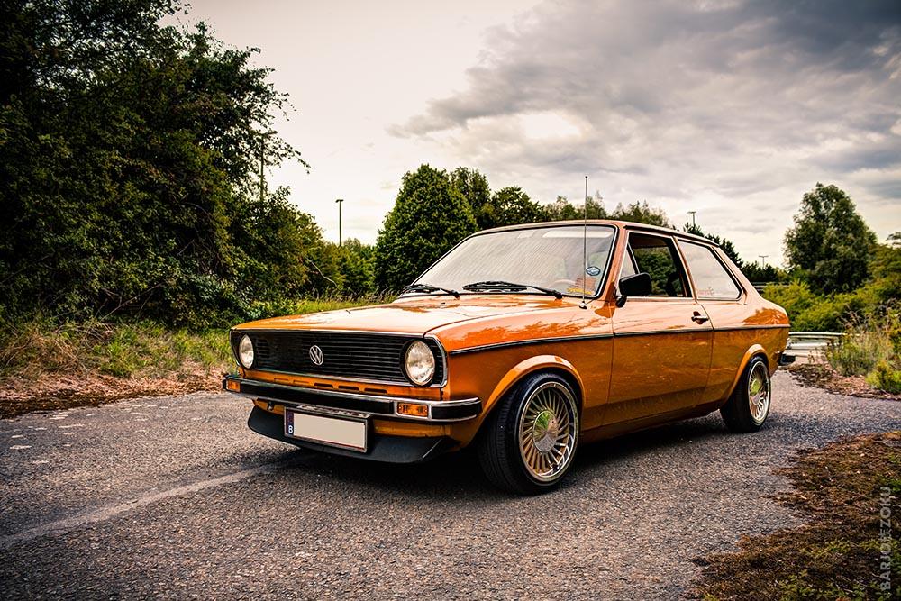 VW Derby orange